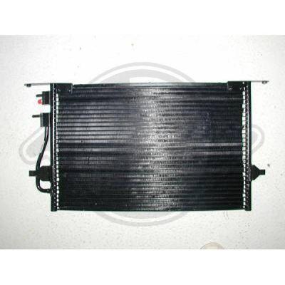 Condenseur, climatisation - Diederichs Germany - 8142600