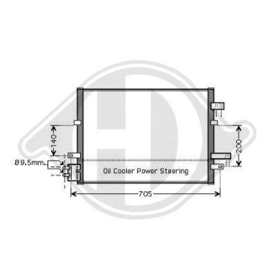 Condenseur, climatisation - Diederichs Germany - 8142704