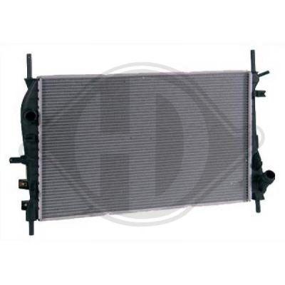 Radiateur, refroidissement du moteur - Diederichs Germany - 8142709