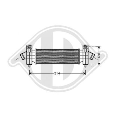 Intercooler, échangeur - HDK-Germany - 77HDK8142710