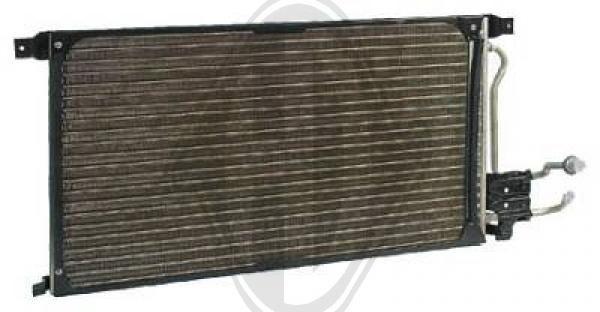 Condenseur, climatisation - Diederichs Germany - 8145300