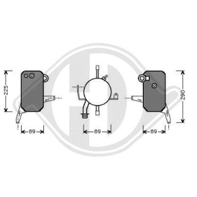 Filtre déshydratant, climatisation - Diederichs Germany - 8145302