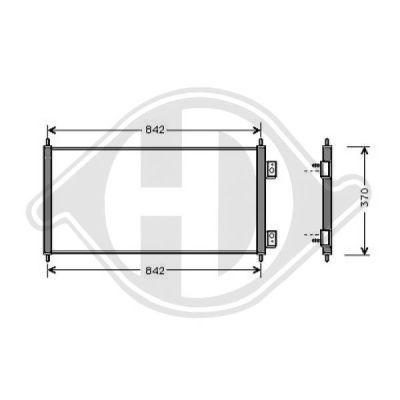 Condenseur, climatisation - HDK-Germany - 77HDK8145400