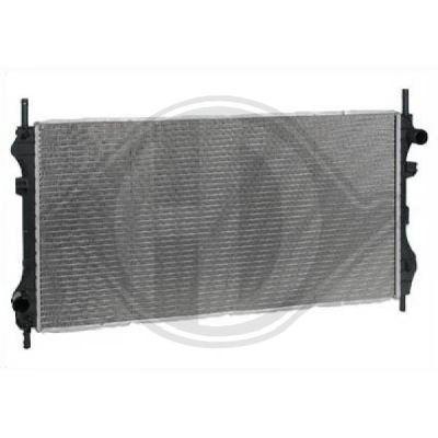 Radiateur, refroidissement du moteur - Diederichs Germany - 8145408