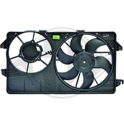 Ventilateur, condenseur de climatisation - Diederichs Germany - 8145461