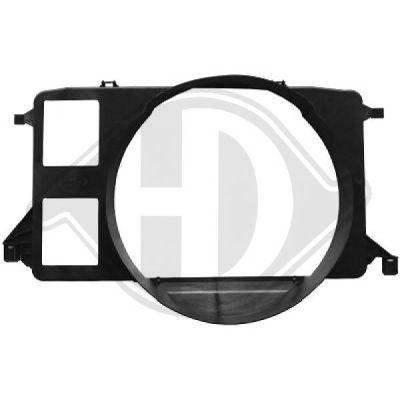 Déflecteur d'air de ventilateur - Diederichs Germany - 8145510