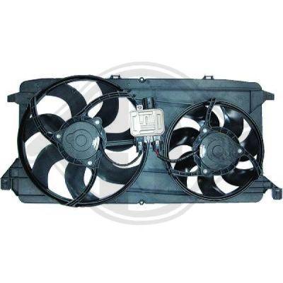 Ventilateur, refroidissement du moteur - HDK-Germany - 77HDK8145513