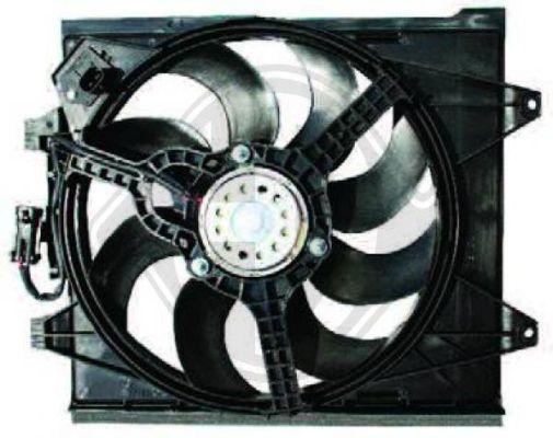 Ventilateur, refroidissement du moteur - Diederichs Germany - 8146112