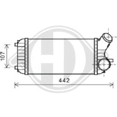 Intercooler, échangeur - HDK-Germany - 77HDK8146704