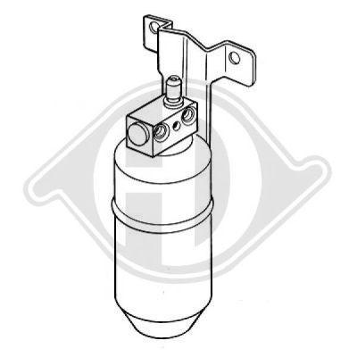 Filtre déshydratant, climatisation - Diederichs Germany - 8149001
