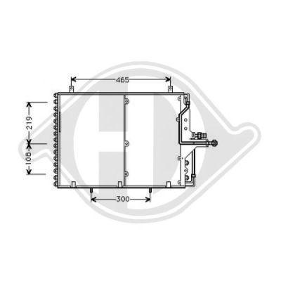 Condenseur, climatisation - Diederichs Germany - 8161301