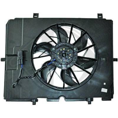Ventilateur, refroidissement du moteur - Diederichs Germany - 8161406