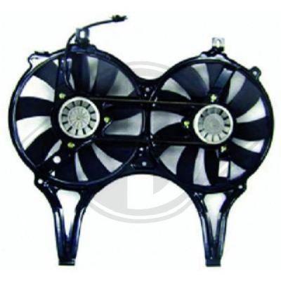 Ventilateur, refroidissement du moteur - Diederichs Germany - 8161407