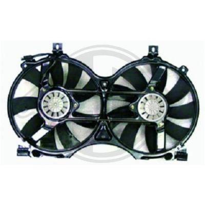Ventilateur, refroidissement du moteur - Diederichs Germany - 8161408