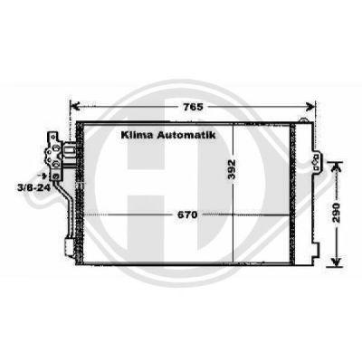 Condenseur, climatisation - HDK-Germany - 77HDK8166602