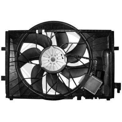 Ventilateur, refroidissement du moteur - Diederichs Germany - 8167115