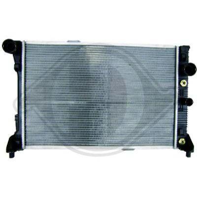 Radiateur, refroidissement du moteur - Diederichs Germany - 8167204