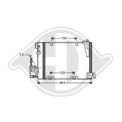 Condenseur, climatisation - Diederichs Germany - 8180502