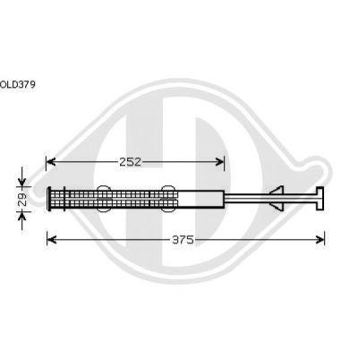 Filtre déshydratant, climatisation - Diederichs Germany - 8180511