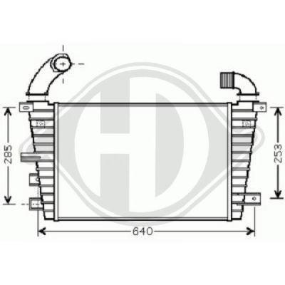 Intercooler, échangeur - HDK-Germany - 77HDK8180612
