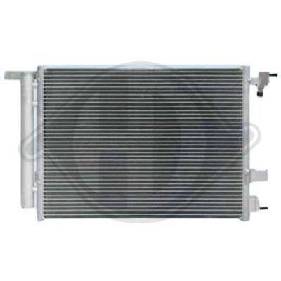 Condenseur, climatisation - Diederichs Germany - 8180701