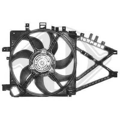 Ventilateur, refroidissement du moteur - Diederichs Germany - 8181314