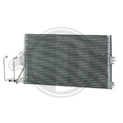 Condenseur, climatisation - Diederichs Germany - 8182400