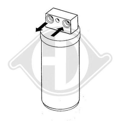Filtre déshydratant, climatisation - HDK-Germany - 77HDK8182401