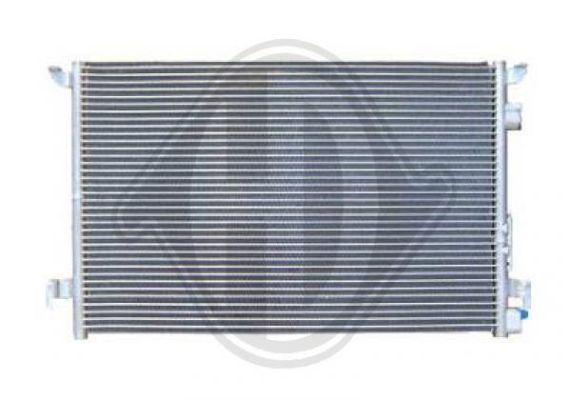 Condenseur, climatisation - Diederichs Germany - 8182500