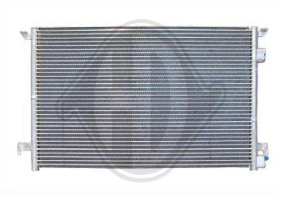 Condenseur, climatisation - Diederichs Germany - 8182501