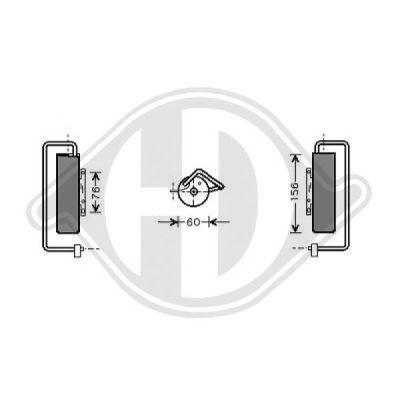 Filtre déshydratant, climatisation - Diederichs Germany - 8182502