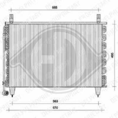 Radiateur, refroidissement du moteur - Diederichs Germany - 8186605