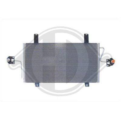 Condenseur, climatisation - Diederichs Germany - 8188502