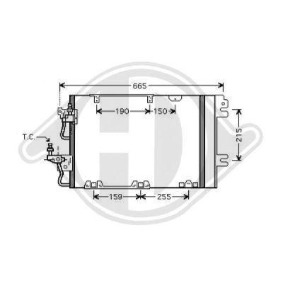 Condenseur, climatisation - Diederichs Germany - 8189100