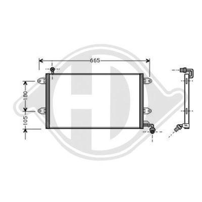 Condenseur, climatisation - HDK-Germany - 77HDK8221200