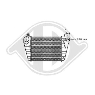 Intercooler, échangeur - Diederichs Germany - 8221305