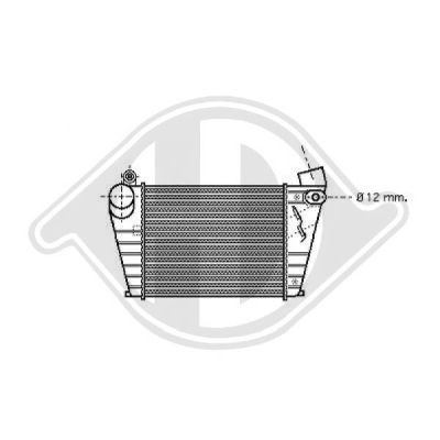 Intercooler, échangeur - Diederichs Germany - 8221306
