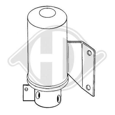 Filtre déshydratant, climatisation - HDK-Germany - 77HDK8224401