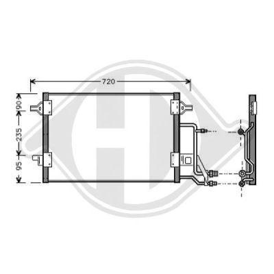 Condenseur, climatisation - HDK-Germany - 77HDK8224500