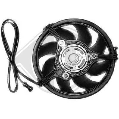 Ventilateur, refroidissement du moteur - Diederichs Germany - 8224512