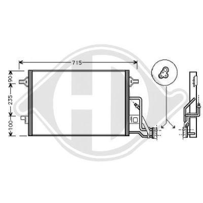 Condenseur, climatisation - HDK-Germany - 77HDK8224600
