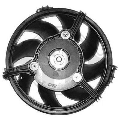 Ventilateur, refroidissement du moteur - Diederichs Germany - 8224611