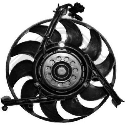 Ventilateur, refroidissement du moteur - Diederichs Germany - 8227010