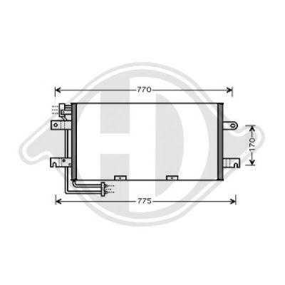 Condenseur, climatisation - Diederichs Germany - 8227101