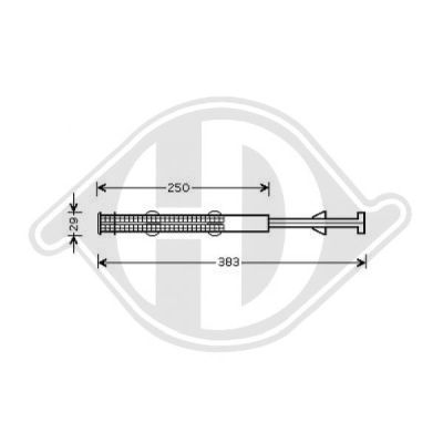 Filtre déshydratant, climatisation - Diederichs Germany - 8227201