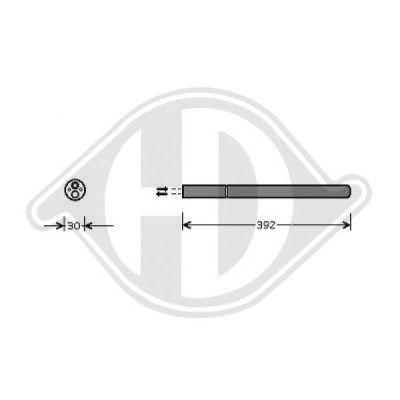 Filtre déshydratant, climatisation - Diederichs Germany - 8229501