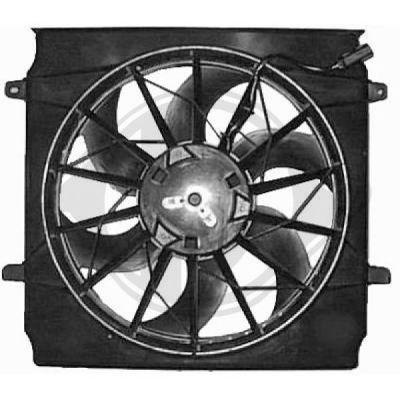 Ventilateur, refroidissement du moteur - Diederichs Germany - 8260005