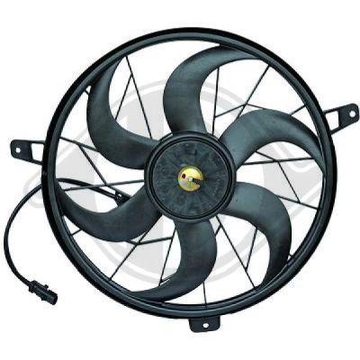 Ventilateur, refroidissement du moteur - Diederichs Germany - 8261211