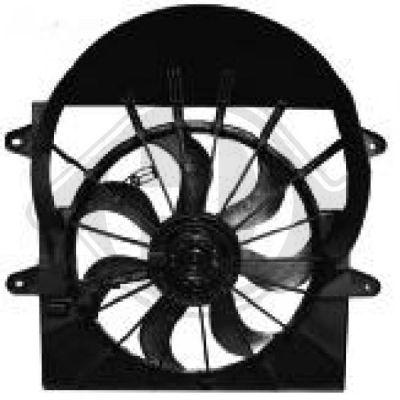 Ventilateur, refroidissement du moteur - HDK-Germany - 77HDK8261215