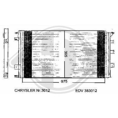 Condenseur, climatisation - Diederichs Germany - 8262101
